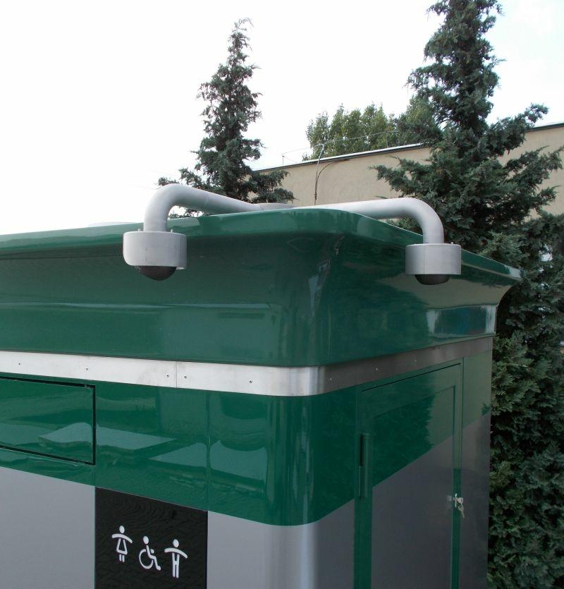 Okos WC, nyilvános WC kamera modulja