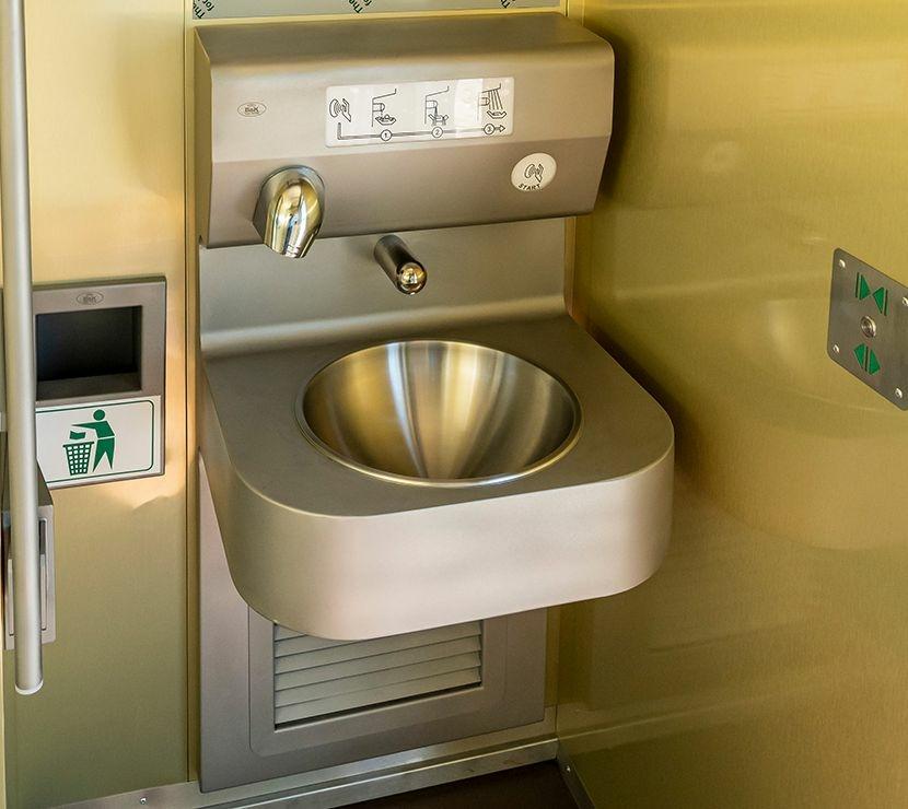 Okos WC, Nyilvános WC, kézmosó modul